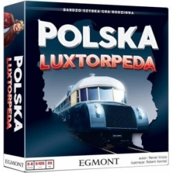 POLSKA LUXTORPEDA GRA RODZINNA + DODATEK GRATIS