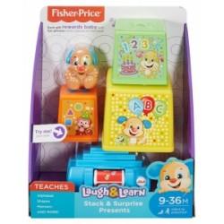 Fisher-Price Ucz się i śmiej: Interaktywne prezenciki *