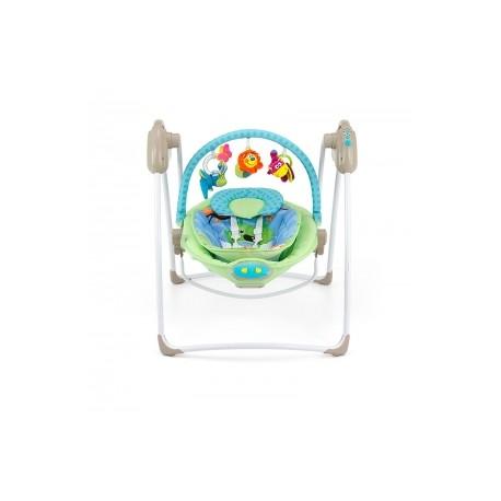 MILLY MALLY HUŚTAWKA LEŻACZEK SWEET DREAMS GREEN-BLUE B1 | toys4us.pl