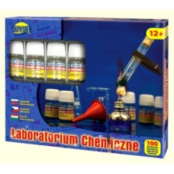 CHEMIK ZESTAW 100 DOŚWIADCZEŃ LABORATORIUM CHEMICZNE NOWOŚĆ