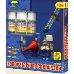 LABORATORIUM CHEMICZNE CHEMIK 50 DOŚWIADCZEŃ ZESTAW 2