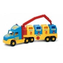 Super Truck Śmieciarka WADER 36530 A1