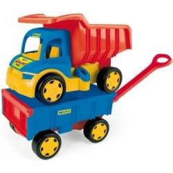 Gigant Truck Wywrotka z Przyczepą WADER 65100 A1