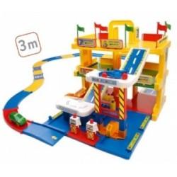 KID CARS 3D GARAŻ Z TRASĄ 3M 3 POZIOMY WADER - 50400 A1