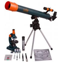 Zestaw Levenhuk LabZZ MT2: teleskop + mikroskop M1