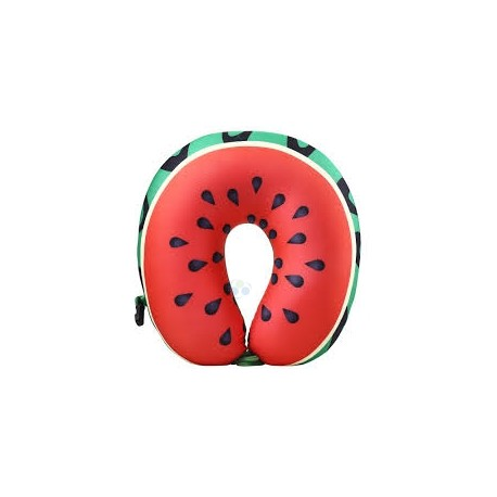 Poduszka podróżna memory pillow arbuz E1