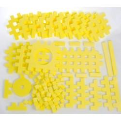PIANKOWE PUZZLE SENSORYCZNE 115EL. lemon premium U1