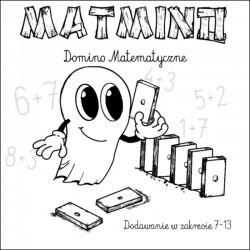 MATMINO DREWNIANE DOMINO MATEMATYCZNE BUU POLSKI