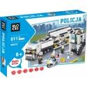 KLOCKI BLOCKI POLICJA 511 EL. POSTERUNEK CIĘZARÓWKA