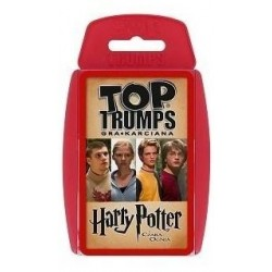 TOP TRUMPS GRA KARCIANA HARRY POTTER i CZARA OGNIA