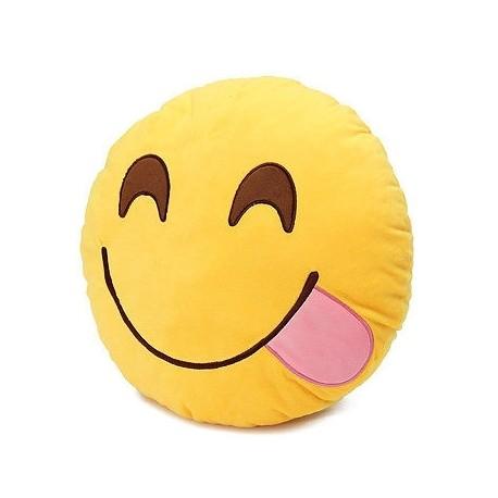 Poduszka Dekoracyjna Emotki Emoji - pychota E1