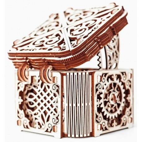 Drewniane puzzle mechaniczne 3D Wooden.City Mystery Box T1