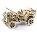 Drewniane puzzle mechaniczne 3D Wooden.City - Auto 4x4 T1