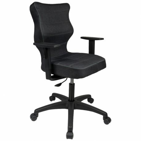 Krzesło DUO black TWIST 17 wzrost 159-188 R1