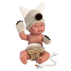 Hiszpańska lalka bobas chłopiec Bebito Wilczek – 26cm T1