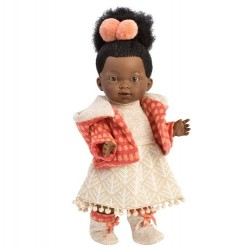 Hiszpańska lalka dziewczynka Zoe - 28cm T1