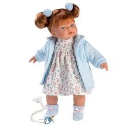 Hiszpańska lalka dziewczynka Lea – płacze 33cm T1