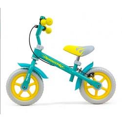 Milly Mally Rowerek biegowy Dragon z hamulcem Mint B1