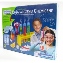 MOJE PIERWSZE DOŚWIADCZENIA CHEMICZNE CLEMENTONI
