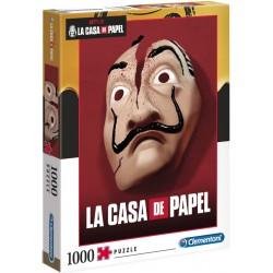 PUZZLE DOM Z PAPIERU 1000 LA CASA DE PAPEL CLEMENTONI