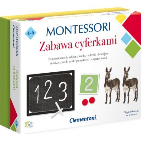 ZABAWA CYFERKAMI MONTESSORI CLEMENTONI