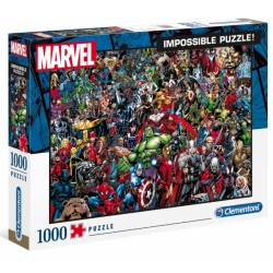 PUZZLE MARVEL IMPOSSIBLE 1000 EL.HIGHT QUALITY CLEMENTONI