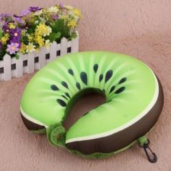 Poduszka podróżna owoce memory pillow kiwi E1