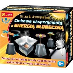 CIEKAWE EKSPERYMENTY Z ENERGIĄ SŁONECZNĄ RANOK