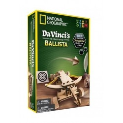 PUZZLE DREWNIANE BALISTA DA VINCI NATIONAL GEOGRAPHIC 3 D