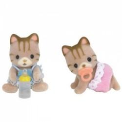 Sylvanian Families Bliźniaki pręgowanych kotków*