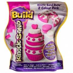 Kinetic Sand Build piasek konstrukcyjny 2 kolory 454g*