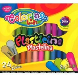 PLASTELINA 24 KOLORY COLORINO KIDS