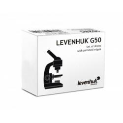 Szkiełka podstawowe Levenhuk G50, 50 sztuk M1