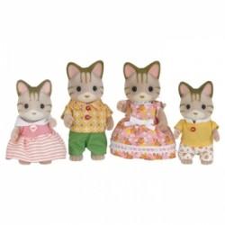 Sylvanian Families Rodzina pręgowanych kotków *
