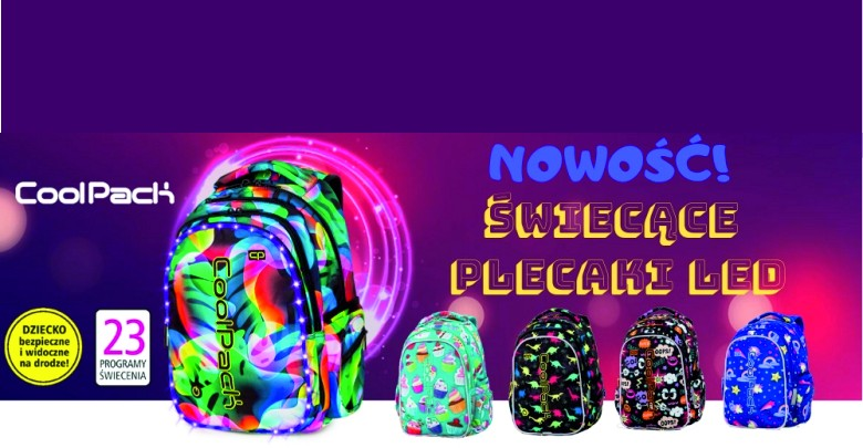 Coolpack plecaki
