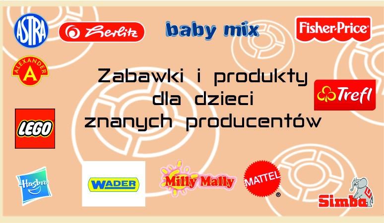 produkty różnych producentów