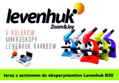 Mikroskopy LEVENHUK